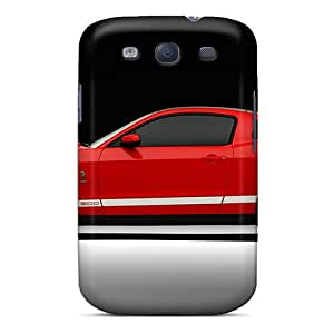 Fashionable Style Case Cover Skin For Galaxy S3- 2011 Ford Shelby Gt500 6