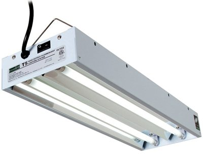 EnviroGro X-Ft, Y-Tube Fixture, T5 Bulbs Included from Hydrofarm, Inc.