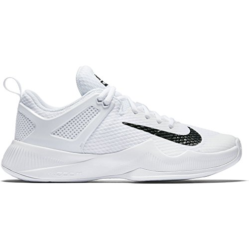 a0ce8314a Galleon - Nike Women's Air Zoom Hyperace Volleyball Shoes White/Black Size  6 M US