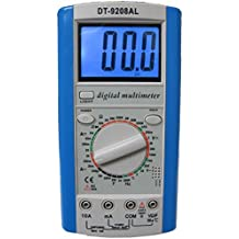 Sinometer DT9208AL Professional Multimeter with Both AC/DC Voltage and 20A Current Measurement, Large Current Checking Up to 20A, INNOVA 3320 Upgraded