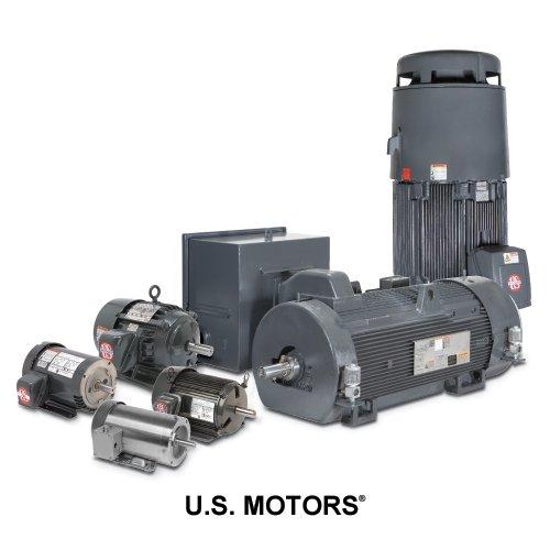 US Motors (Nidec) 9641 - Blower/Fan Motor - 1 ph, 1/50 hp, 1500 rpm, 115 V, ODP Enclosure