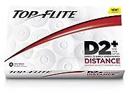 Top Flite D2 Distance Golf Balls - 15-Pack