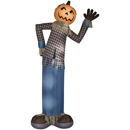Holiday Living 12-ft x 5.54-ft Lighted Scarecrow Halloween Inflatable 73898 by Holiday Living