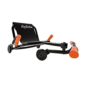 EzyRoller Classic Ride On - Black with Orange Accessories