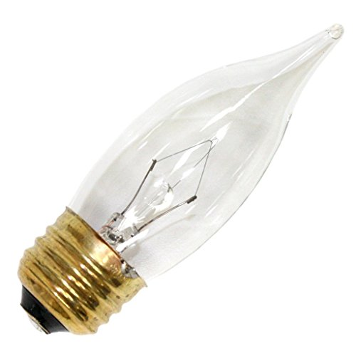 Luminance 09809 - L8506 60CA10 CA10 Decor Light Bulb