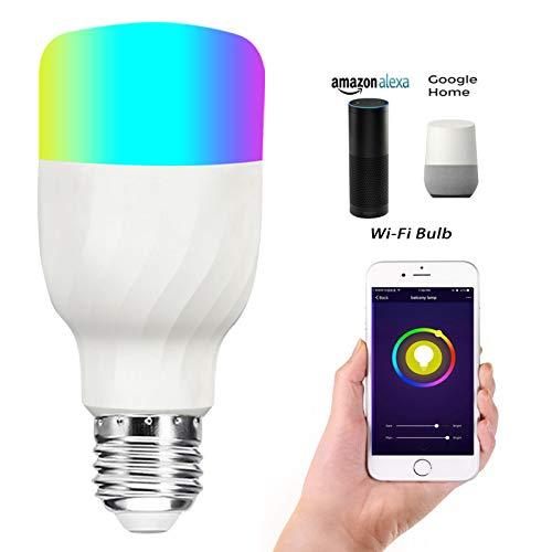 Voice Energy Smart Bubble Atmosphere Saving Wifi Led Bulb UpMGSzVq