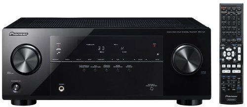 Pioneer VSX-521-K 5.1 Home Theater Receiver, Glossy Black