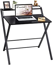 GreenForest No Assembly Required Folding Desk