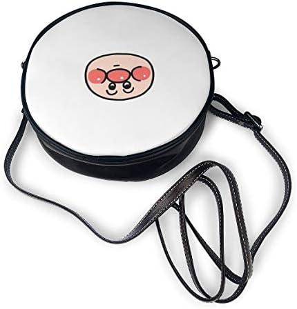 丸型ショルダーバッグ それいけ!アンパンマン PUレザー 小さめ 人気 取り外し可能 軽量 可愛い レディース ミニバッグ クロスボディバッグ