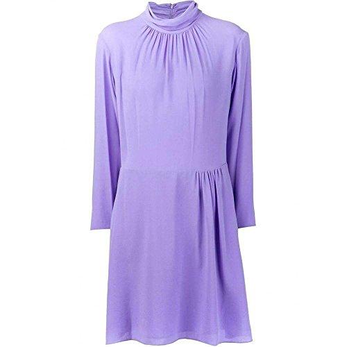 Nina Ricci Runway Purple Silk Crepe ()