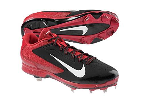 - Nike Air Huarache Pro Low 599233-016 Black Red Men's Metal Baseball Cleats 13 US