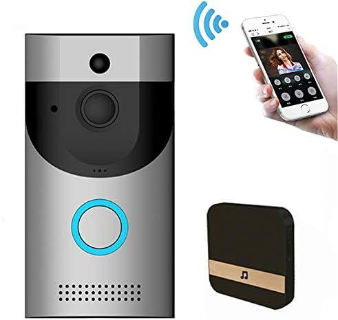 ワイヤレスカメラ TVインターフォン スピーカー・マイク搭載 双方音声インターフォン 720P HD ワイヤレスチャイム 防犯センサー 呼び出し鈴玄関 ドアベル 暗視撮影 ドアホン