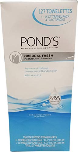 (Ponds Facial Cleansing Wipes, 127 Count)