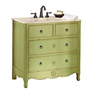 keys vanity 35 hx36 w distressed pear green. Black Bedroom Furniture Sets. Home Design Ideas