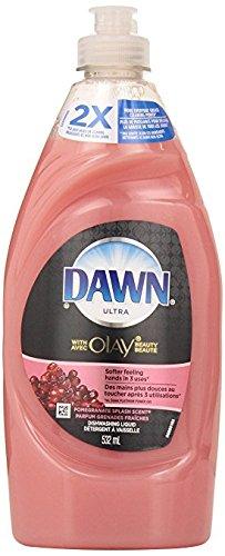 3 Pk. Dawn Ultra Dish Liquid with Olay Pomegranate Splash Scent 18 - Pomegranate Splash