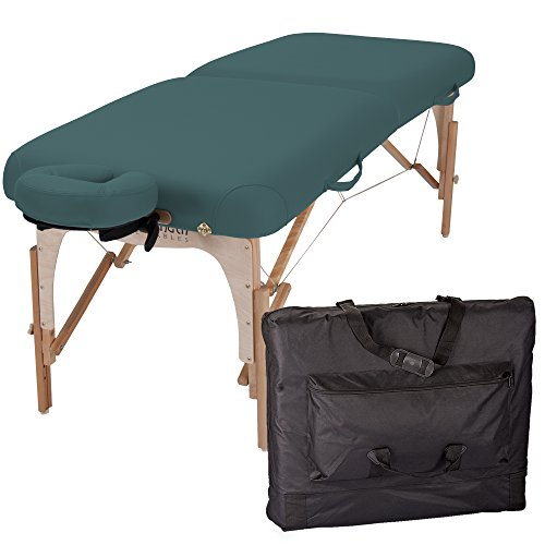 (Inner Strength E2 Portable Massage Table Package Full Reiki - Incl. Deluxe Adjustable Face Cradle, Pillow & Carrying Case)