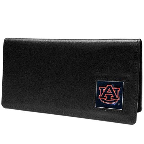 Auburn Tigers Black Leather (NCAA Auburn Tigers  Leather Checkbook Cover)