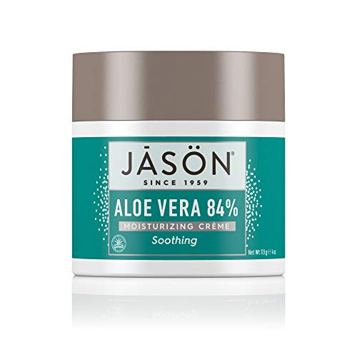 Jason Soothing Aloe Vera 84% Moisturizing Creme 4 oz (Pack of 3)