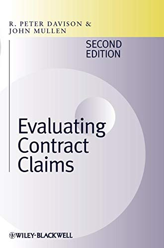 Evaluating Contract Claims (Contract Construction Variations)