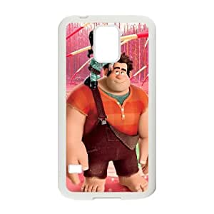 Wreck It Ralph Samsung Galaxy S5 Cell Phone Case White F9813322