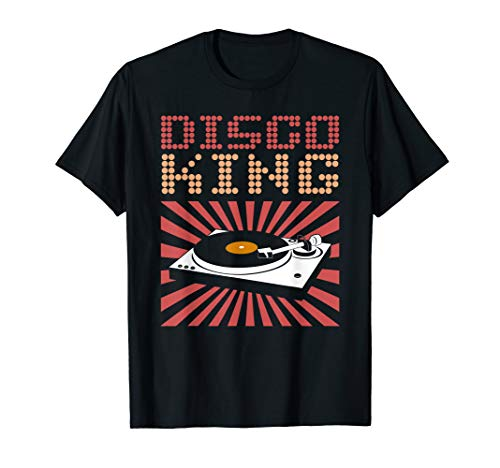 Disco King T-Shirt 70s Disco Themed Shirt Vintage Retro Tee