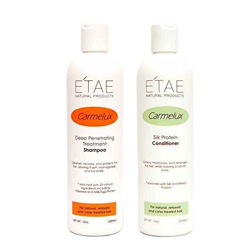Etae Carmelux Shampoo 12oz and Conditioner 12oz Set