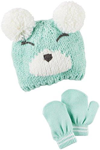 Carters Girls Winter Hat Glove D08g104