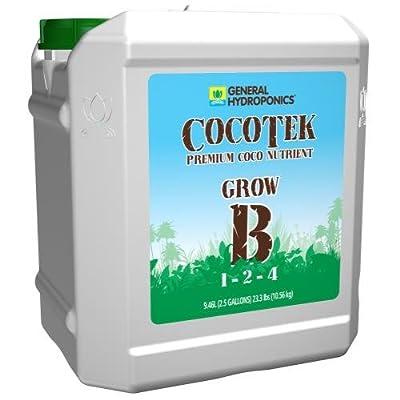 General Hydroponics GH3264 Cocotek Grow Hydroponic Base Nutrient, White : Garden & Outdoor