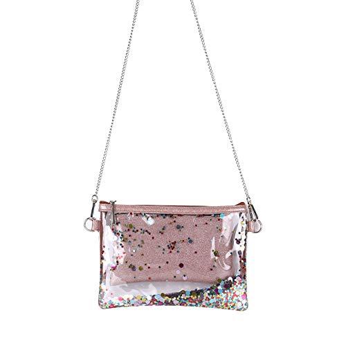 f2d24a9d444b Leaper Cute Clear Bag Transparent Messenger Bag Shoulder Bag Purse ...
