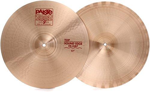 Paiste 2002 Medium Hi Hats - Paiste 2002 Sound Edge Hi-hats - 17