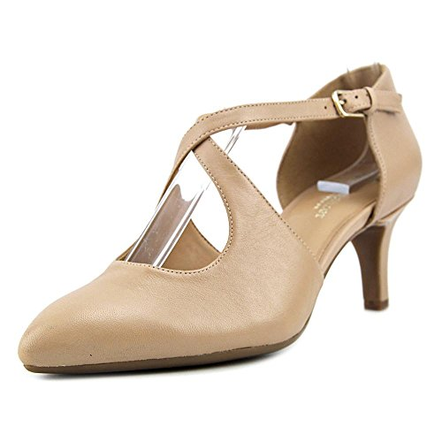 sale best prices Naturalizer Women's Okira Dress Pump Tender Taupe Leather outlet purchase view sale online cheap sale collections gl99WXRkD
