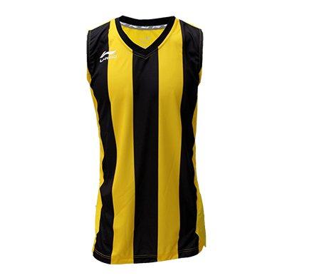 Li-Ning Camiseta Basket -Amarillo/Negro-: Amazon.es: Deportes y aire libre