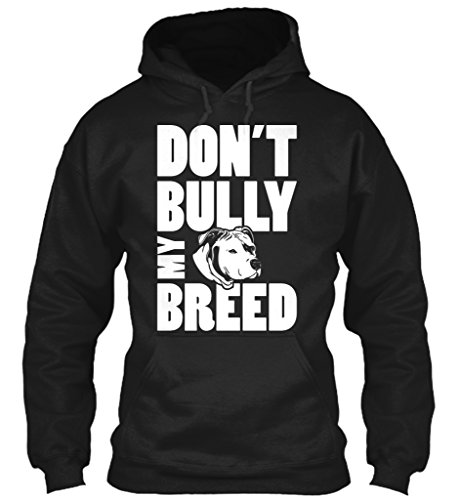 teespring-unisex-dont-bully-my-breed-gildan-8oz-heavy-blend-hoodie-medium-black