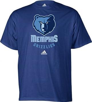 Adidas NBA Memphis Grizzlies Camiseta de Manga Corta, NBA, Hombre, Color Memphis Grizzlies, tamaño Large: Amazon.es: Deportes y aire libre