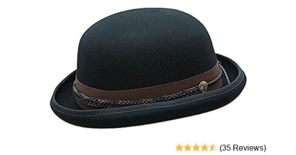 3dac0518821 Conner Hats Men s Carson City Wool Bowler Hat at Amazon Men s Clothing  store