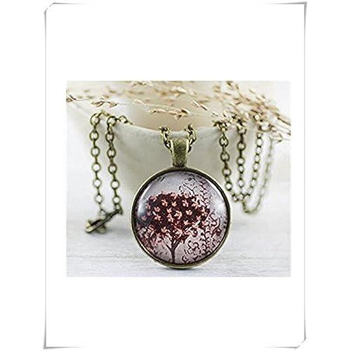7d874e0fa577 Marrón collar – joyas – Collar – Único joyas – árbol joyas Bueno ...