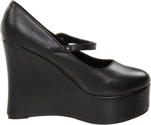 475 Ellie Black Ellie Shoes Polyurethane Shoes Pump Womens Womens Wedge wqqXBR4