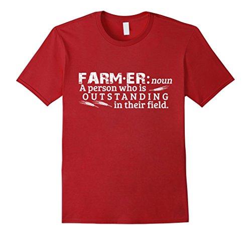 Mens Perfect Farmer T-shirt Gift A Person Who