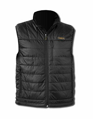 VOLT Men's Cracow Heated Vest, Black, Medium