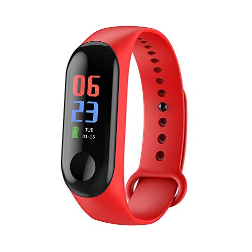 Layopo Fitness Tracker Wristband, IP67 Waterproof Heart Rate Monitor IPS Full Color Screen Multi-Function Pedometer Calorie Counter Smart Watch Gift