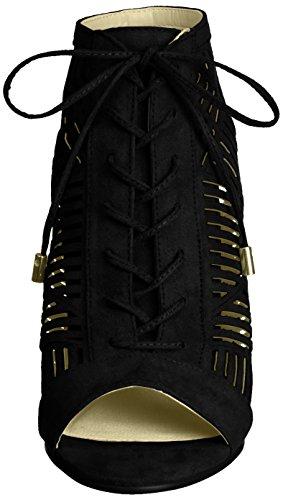 La Strada 963538 - Sandalias Mujer Schwarz (Black)