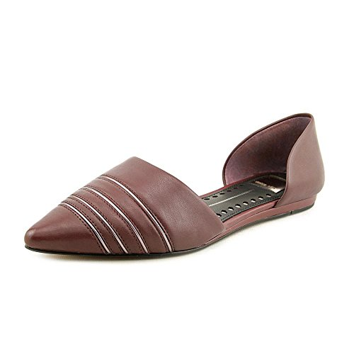 Dolce Vita Kvinnor Adalynn Balett Platt Bordeaux Läder