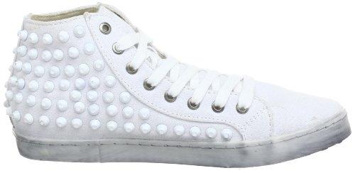 Colors of California Hc.skech6, Women's Hi-Top Sneakers White - Weiß (Bianco Whi)