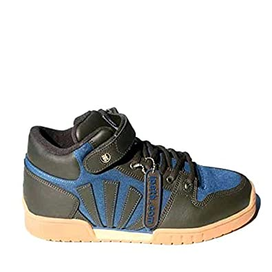 0852d44a57 IPath Men s IPATH Yogi Hi Pro Leather Brown Blue taille 40.5 Trainers   Amazon.co.uk  Shoes   Bags