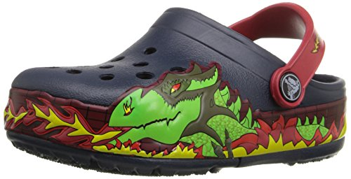 Image of Crocs Kids' Light-Up Fire Dragon Clog