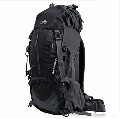 Amazon.com : Topsky Unisex Professhional Mountaineering Waterproof Outdoor Travel Hiking Camping Backpack (Black) : Sports & Outdoors
