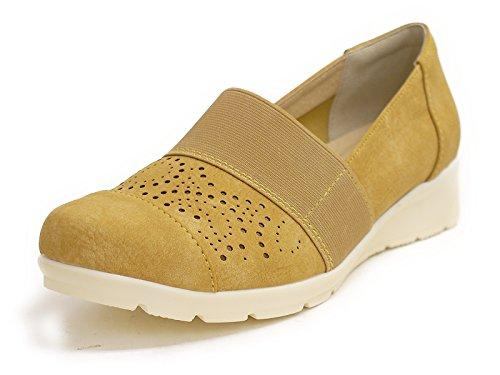 ウォーキングシューズ 靴 レディース 歩きやすい パンチング リフレッシュウォーク 厚底フラット