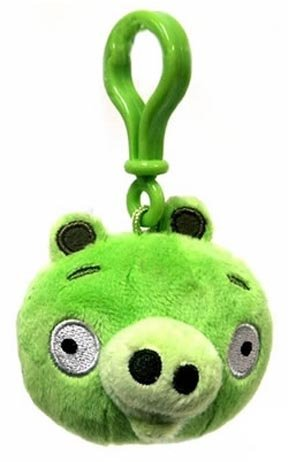 Angry Birds Backpack Clip Piglet