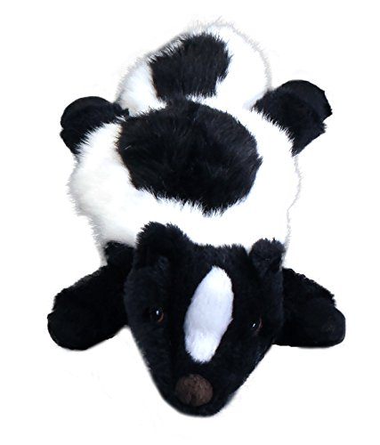 GoDog Flatz Skunk With Chew Guard Large