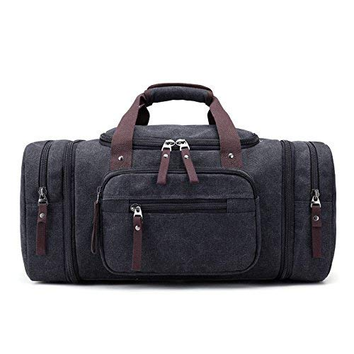 Mariisay Single Getragen Getragen Getragen Canvas Tasche Leinwand Reisetasche Man Jungen Business Laptop Bag Daypacks Tasche Single Schulter Handtasche (Farbe   Khaki, Größe   One Größe) B07QFVF43Z Herrentaschen 09f784
